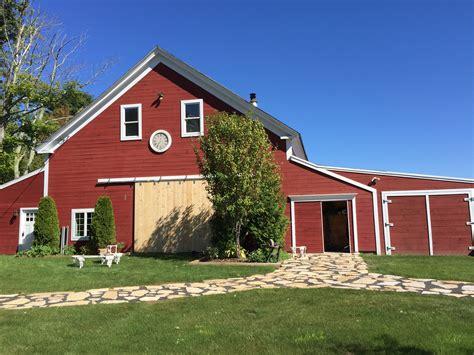 Farm, Lawn, Countryside, House, Building