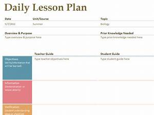 printable lesson plan template free to download With teachers college lesson plan template