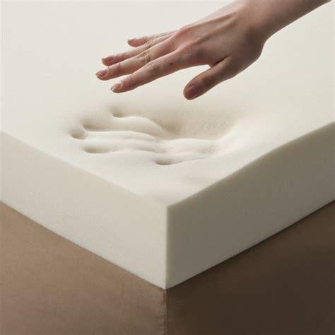memory foam enhance 4 quot memory foam topper white future foam target