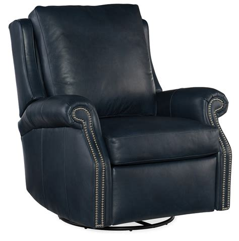 barcelo leather swivel glider recliner  bradington young