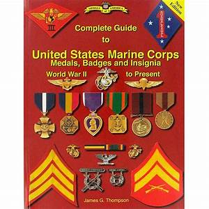 Book Guide To Usmc Medals Badges And Insignia Wwii To