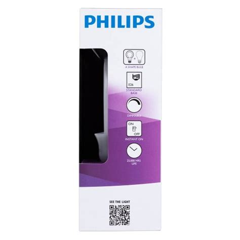 philips a19 dimmable led l philips 452978 60 watt equivalent slimstyle a19 led light