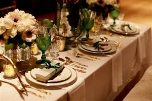 Your Wedding in Colors: Emerald and Gold - Arabia Weddings