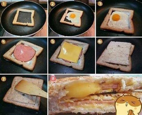 creative ideas diy easy delicious sandwich