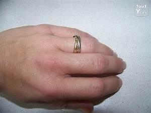 Bague 3 Ors Cartier : bague cartier trinity 3 ors t 51 boite et certificat ~ Carolinahurricanesstore.com Idées de Décoration