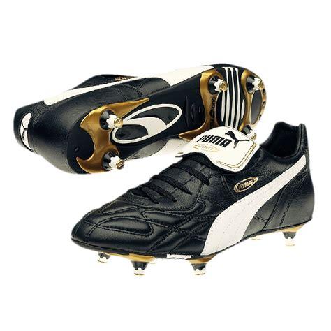 Puma King Pro SG Leder Fußballschuhe Schraubstollen