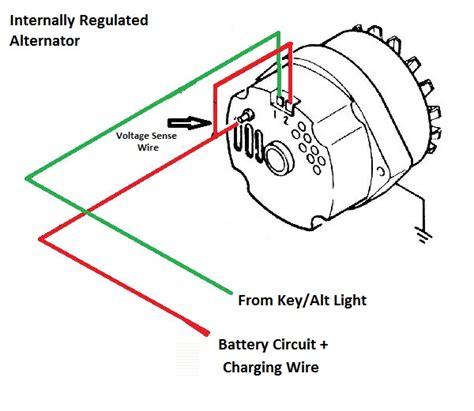2 Wire Alternator Diagram by Alternator Trouble Shooting