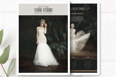 Digital Book Wedding Template Vol 1 To 7 by Free Wedding Photography Price List Flyer Templates