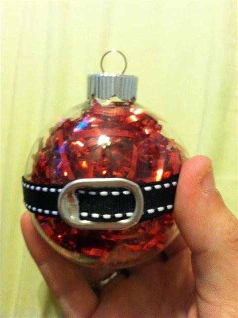 santa ornament love  soda  tab   belt buckle