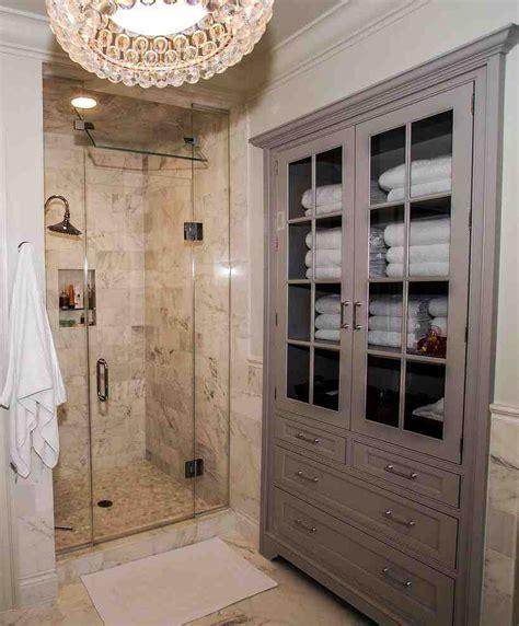 built  linen cabinet home furniture design