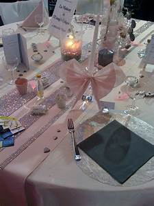 Deco Mariage Rose Et Blanc : idee d co de table gris et vieux rose wedding ideas en 2019 wedding table table decorations ~ Melissatoandfro.com Idées de Décoration