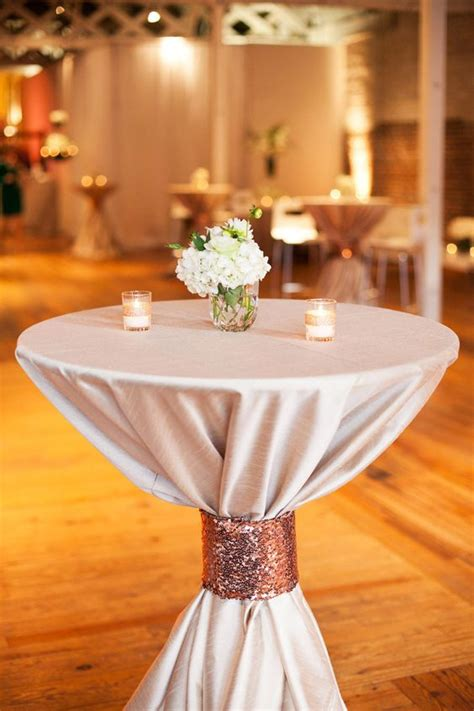 drink table decorating raleigh wedding from a southern soiree glitter cloths