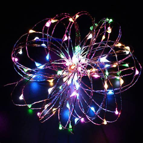 2m 20 led copper string lights lights battery