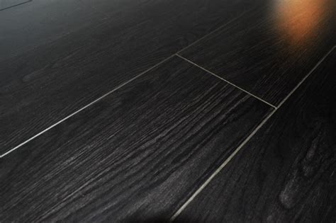 Black Ash V Groove Laminate Flooring