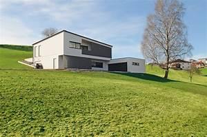 Haus Am Hang : das hanghaus bauen am hang m haus blog holzbauweise ~ A.2002-acura-tl-radio.info Haus und Dekorationen