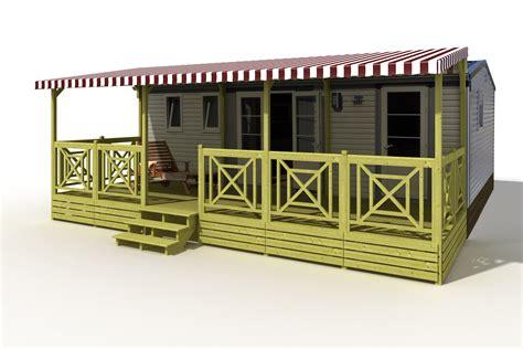 terrasse 250720 couverte croix sur mobil home terrasse mobil home deckit fabricant