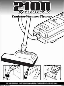 Electrolux Carpet Cleaner Instructions