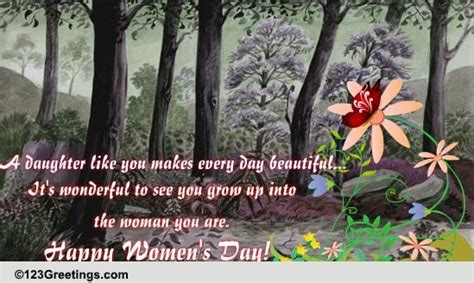 womens day    daughter  family ecards