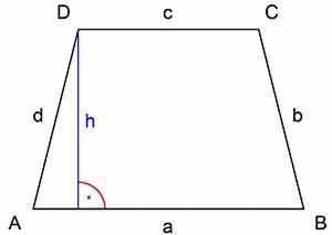 Höhe Berechnen : alles zum trapez und seinen berechnungen hier lernen ~ Themetempest.com Abrechnung