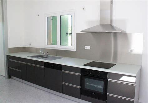 cuisine credence espace cuisine atelier du sur mesure