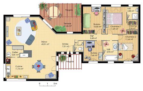 plan maison moderne gratuit pdf notre petit nid inspi