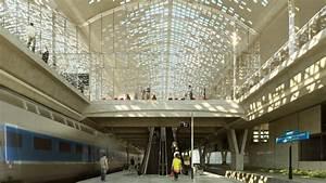 Agence Architecture Montpellier : gare tgv de montpellier marc mimram ~ Melissatoandfro.com Idées de Décoration