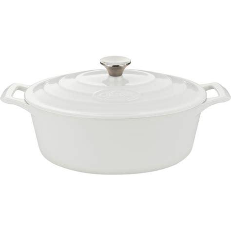 lave cuisine pro la cuisine pro 4 75 qt cast iron oval oven lc