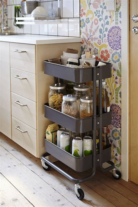 clever ikea storage solutions   kitchen basic