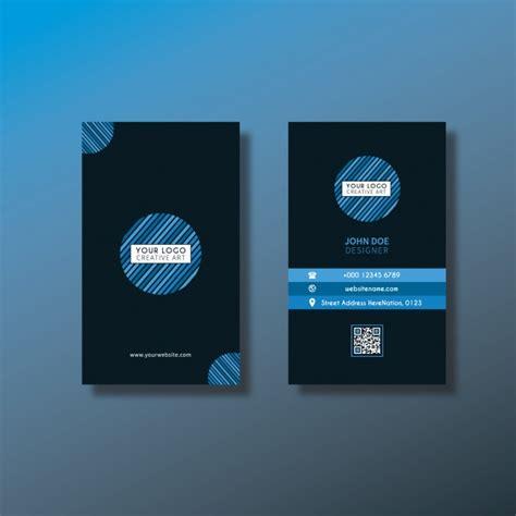 vertical business card design vertical business card design vector free