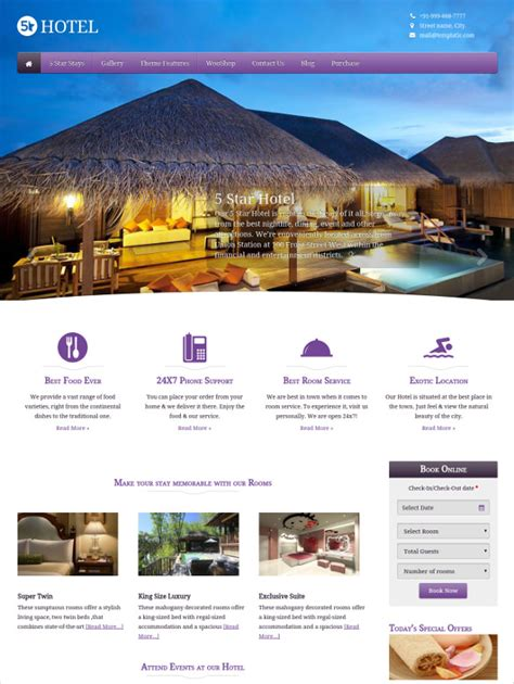 Tourism Website Design Free Templates by 55 Tourism Website Themes Templates Free Premium
