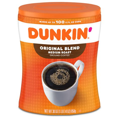 Understanding the amount of caffeine and sugar in dunkin' donuts iced coffee is critical to deciding just how much of this drink is safe to have. Original Blend Coffee in Canister| Dunkin' at Home Coffees