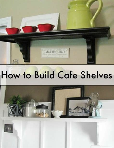 how to build open cabinets how to build cafe shelves open shelves shelves and arms