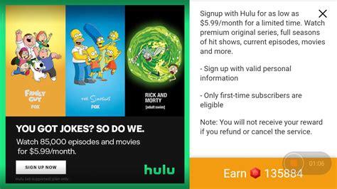 tapjoy offer screenshot screenshots imvu link paid credit hulu