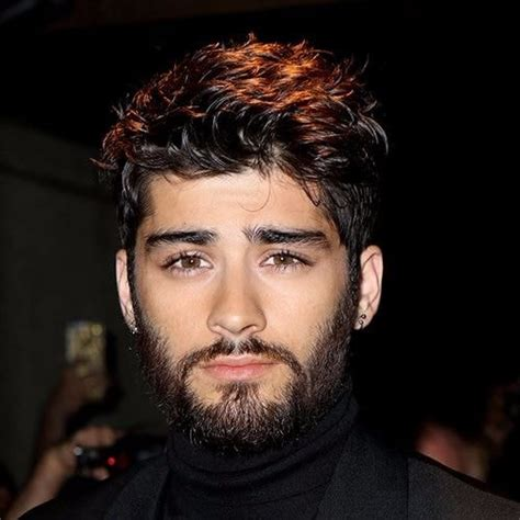 Zayn Malik Hairstyle with Beard
