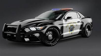 Mustang Police Ford Notchback Cop Wallpapers Cars