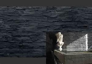 Fassadenverkleidung Steinoptik Aussen : wandverkleidung kunststoff wandpaneele in moderner steinoptik kunststeinpaneele lascas negra ~ Orissabook.com Haus und Dekorationen