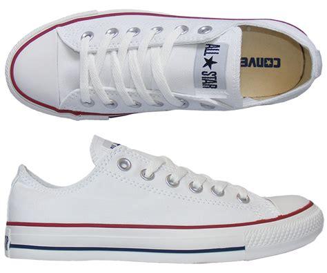 Converse All Star Chucks flach weiß eBay