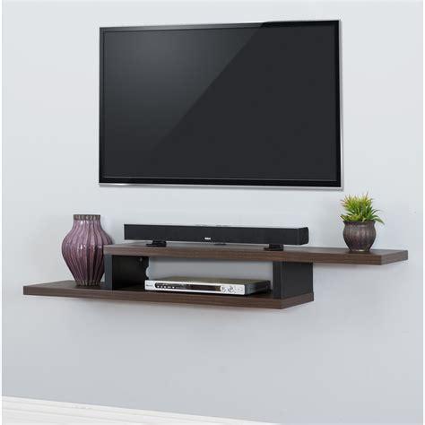 tv wall shelf martin home furnishings ascend 60 quot asymmetrical wall