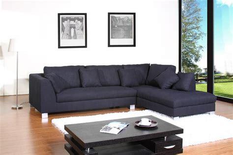 canapé d angle noir tissu photos canapé d 39 angle tissu noir