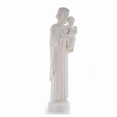 Statue Marmorpulver Heiliger Joseph Marmo Statua Giuseppe
