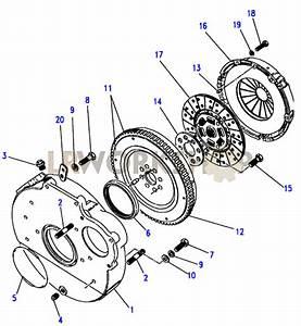Clutch  U0026 Flywheel - 2 25 Petrol