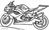 Coloring Motorcycle Pages Printable Cool2bkids sketch template