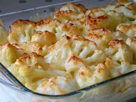 recette de grtain de chou fleur pommes de terre et