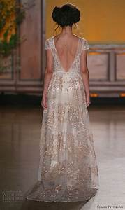 claire pettibone fall 2016 wedding dresses the gilded With fall color wedding dresses