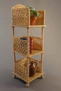 A 112 Scale Miniature Wicker Furniture Board Diy On