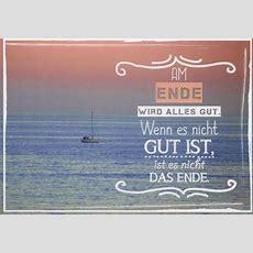 Postkarte Spruch Weisheit Am Ende Wird Alles Gut