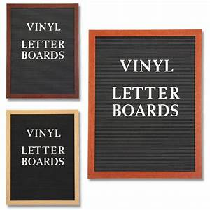 Open face vinyl letter board 48x72 wood frame at for Vinyl letter board
