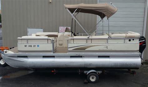 Bennington Pontoon Boats For Sale Canada by Used Pontoon Boat For Sale Bennington Deck Boat Columbus