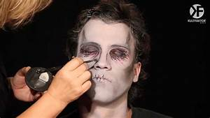 Schminken Zu Halloween : schminken zu halloween zombie make up leicht gemacht by youtube ~ Frokenaadalensverden.com Haus und Dekorationen