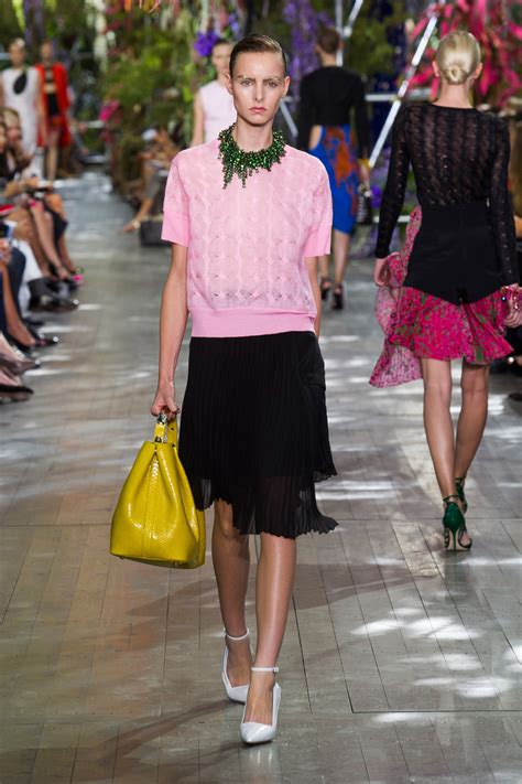 Christian Dior Spring 2014 Runway Pictures Stylebistro